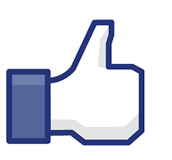 Logotipo de pulgar arriba de Facebook Me gusta