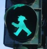 Semaforo en verde, pasar