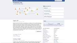 Tema de WordPress inspirado en Facebook