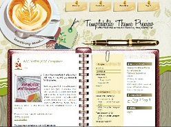 Tema desk coffe para wordpress