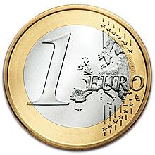 Moneda de 1 euro, dinero europa